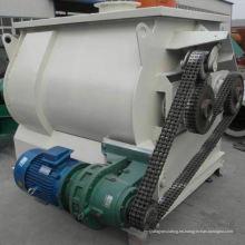 Mezclador de paletas de doble eje WZ con gravedad cero, mezclador de gancho de masa SS, mezclador de turbina horizontal