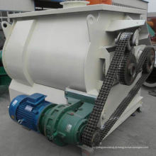 Misturador de pás de eixo duplo WZ de gravidade zero, misturador de gancho de massa SS, misturador horizontal de turbina