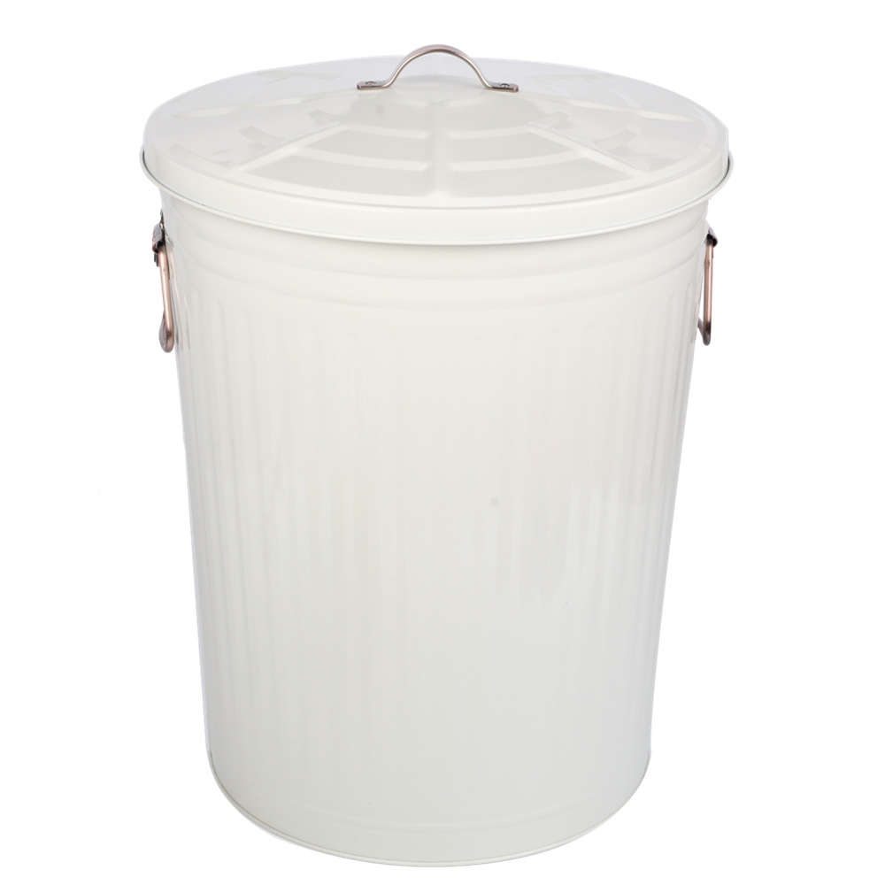 Waste Bin With Lid For Garden