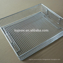 Stainless Steel Disinfection Cleaning/Sterilization Basket