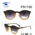Round Shape Plastic Sunglasses (PS1150)