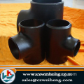 A234wpb SCH10 to SCH XXS equal reducing pipe tee