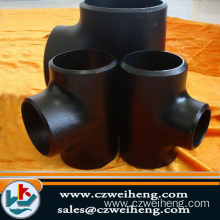 high pressure carbon steel Pipe Tee