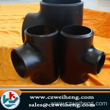 Big discounting for Galvanized Steel Tee butt welding carbon steel tee export to Paraguay Exporter