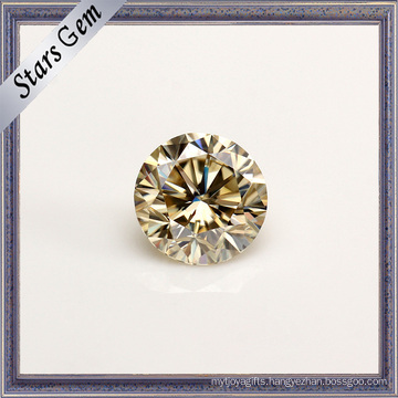 Certificated High Quality Luminous Glamour Moissanite Gemstone