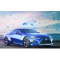 Mariposa Azul color polvo BlueMorpho para esmalte de uñas Lápiz labial de sombra de ojos y pintura para automóviles
