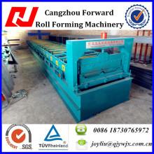 Rollo automático de la hoja de la techumbre del acero ocultado de la junta que forma la máquina