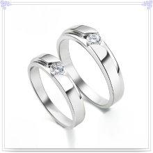 Joyería de la manera Anillo cristalino 925 joyería de la plata esterlina (CR0012)