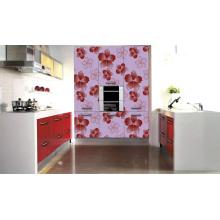 Flower Pattern Embossed Kitchen Cabinet (zhuv)