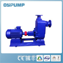 Centrifugal theory non-clogging self-priming sewage pump