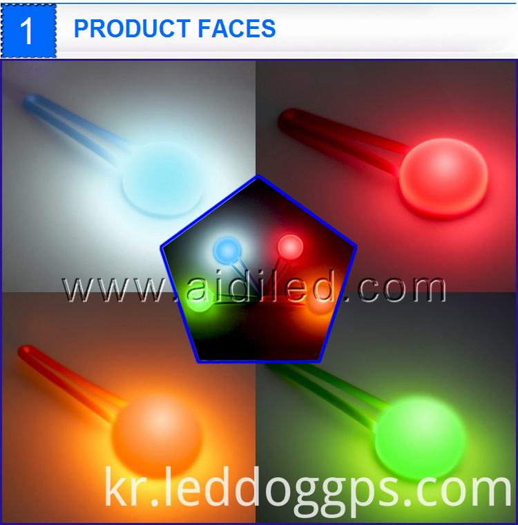 Clip On Led Light For Dog Collar