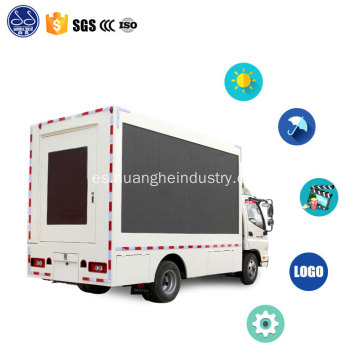 dongfeng led street show stage truck para la venta