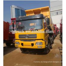 4X2 volante a la derecha Dongfeng Tianjin camión volquete / Dumper / Volquete con capacidad de carga de 210 CV 15CBM
