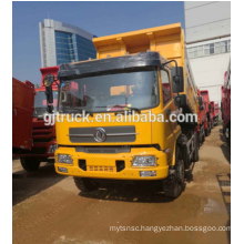 4X2 right hand drive Dongfeng Tianjin dump truck / Dumper /Tipper with 210Hp 15CBM loadng capacity