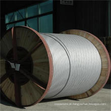 Fio de fio de aço revestido de alumínio ASTM Acs padrão para condutor suspenso de tensão extra alta