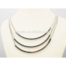Shiny punk clothes accessory women fashion silver jewelry set