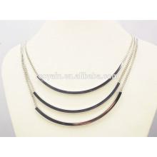 Блестящий панк одежды аксессуары женщин моды серебряные ювелирные изделия набор
