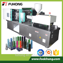 Ningbo Fuhong high capacity plastic bottle making machine 200ton injection molding machine to make plastic bottles