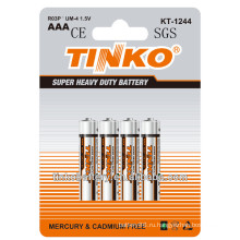 Tinko бренда горячие продавая um4 r03P сухой батарея ААА в Европе