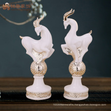 Home decor items wholesale price resin antelope sculpture for christmas gifts