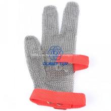 5 Schutz Level Stahl Mesh Handschuhe