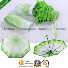 Nouvelle Itemsthree pliable créative végétale parapluies pour les cadeaux (FU-3821BV)