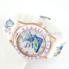 Relojes de moda para adolescentes reloj barato de silicona