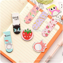 2017 New Cute Cartoon Magnetic Bookmark Clips for Kids
