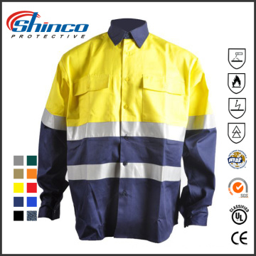 Cotton Anti-UV and FR Safety Clothing