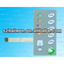 Interruptor del teclado de la membrana del LED