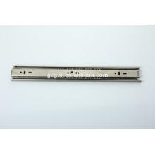 Slide de gaveta de aço inoxidável personaliza o comprimento do trilho deslizante