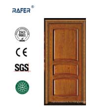 Дешевые 100% грецкого ореха твердая деревянная дверь (РА-N034)