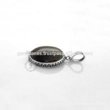 Handmade Sterling Silver Gemstone Beautiful Bezel Pendant