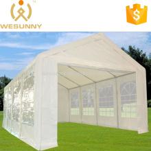 26' x 13' White PE Party Tent - Heavy Duty Carport Canopy Car Shelter