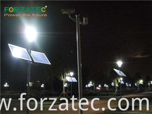 solar street light lithium-ion battery