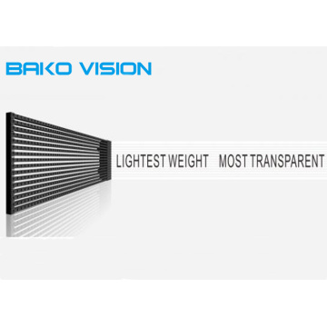 High Transparency Mesh LED Display Panel