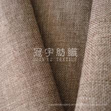 Tela de linho do poliéster para têxteis-lar