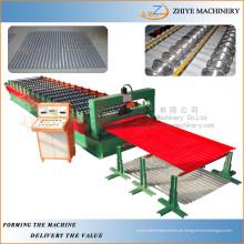 Farbige Stahldachverpackung Wellblechverzinkte Blechherstellung Maschinenlieferant