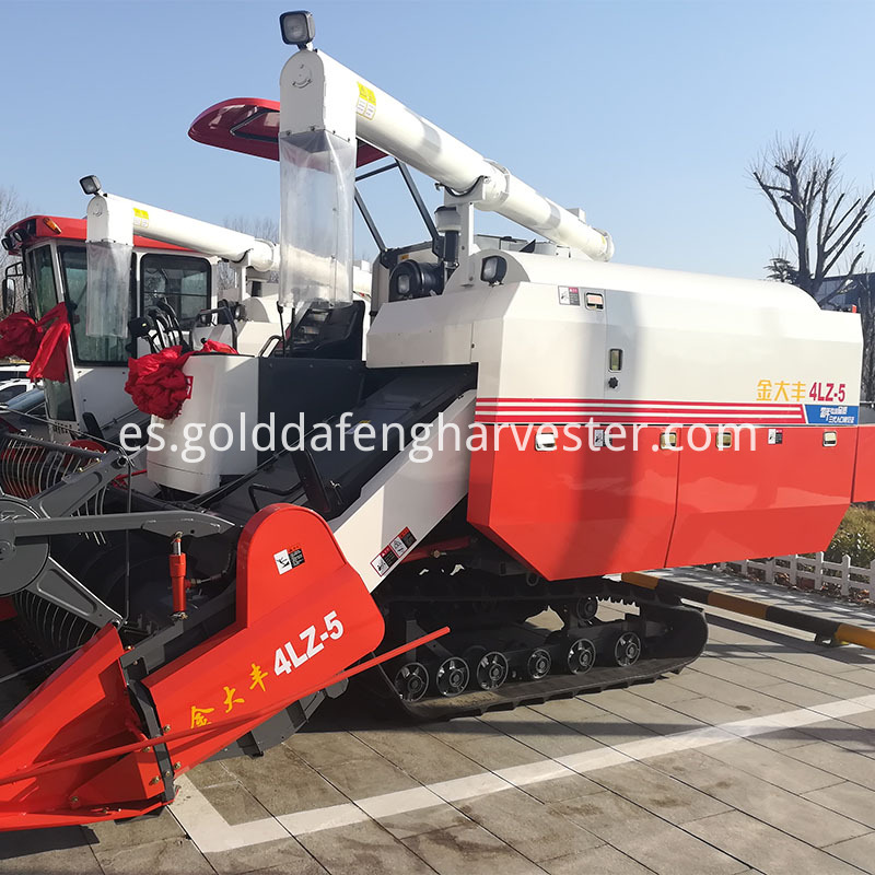 Agriculture machinery equipment full-feed rice harvester