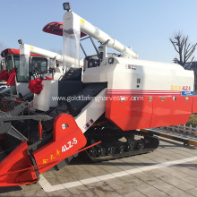 Agriculture machinery equipment full-feed harvester rice