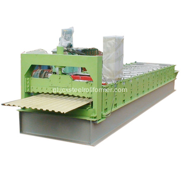 C20 Russian Roofing Design Roll Making Machine
