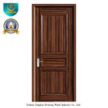 Porte en bois massif de style moderne pour l'intérieur (ds-095)