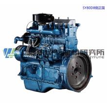 6 Cylinder, 121kw, Shanghai Dongfeng Diesel Engine for Generator Set