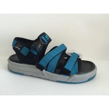 Mais recente moda sandália sapatos para homens com Web superior