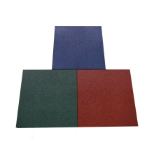 High Permance for China Square Rubber Tile,Rubber Floor Tile,Square Flooring Tiles Supplier Rubber Flooring For Gym supply to Barbados Manufacturer