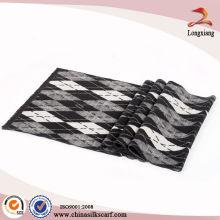 Warm Jacquard Winter Custom Silk Scarves Wholesale