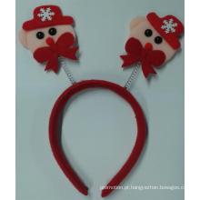 Presente da promoção para Natal cabeça Hoop, cesta de Natal (PF03003)