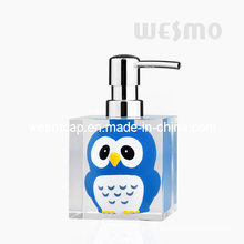 Children Style Polyresin Soap Dispenser
