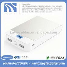 Hochwertige 11000mAh Power Bank LCD Power Display für Iphone Samsung HTC Nokia