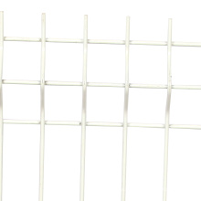 la barrière a galvanisé la porte de fer de sécurité de panneaux de treillis métallique